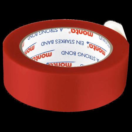 PVC-Klebeband monta film 257F, 38 mm breit - rot