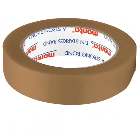 PVC-Klebeband monta Pack 281, 25 mm breit - braun