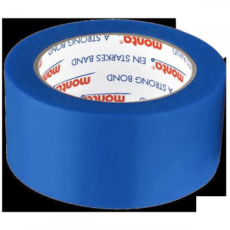PVC-Klebeband monta film 250F, 50 mm breit - blau