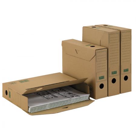 ablagebox 65 premium a4 braun. Black Bedroom Furniture Sets. Home Design Ideas