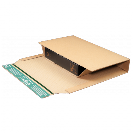 Versandverpackung ECO A5+ braun