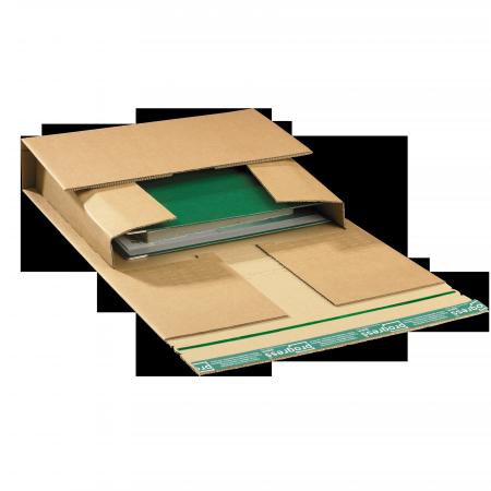 Versandverpackung PREMIUM Ordner braun