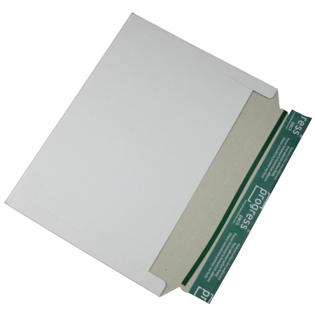Versandtasche A4 weiß