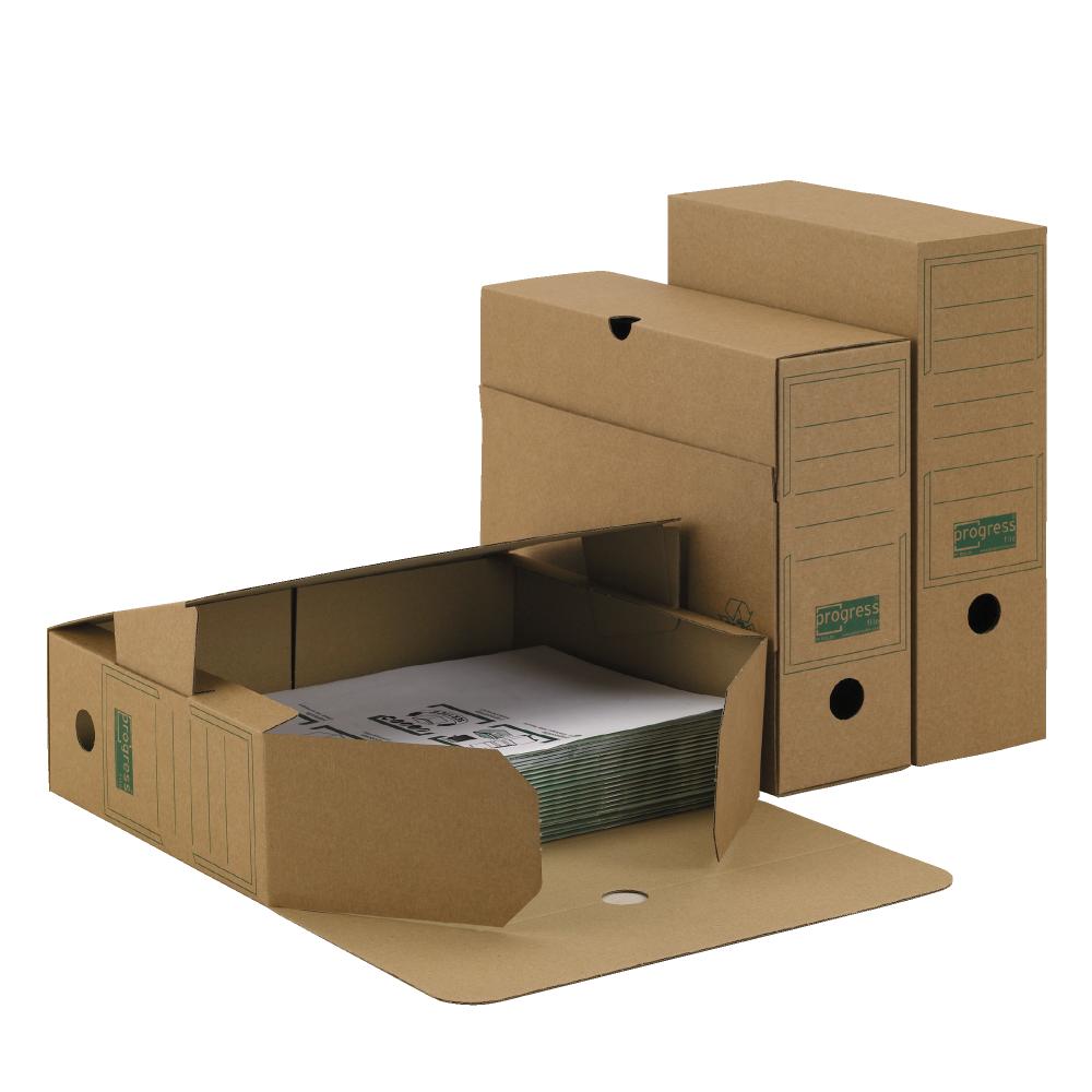ablagebox 80 premium a4 braun. Black Bedroom Furniture Sets. Home Design Ideas