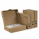Ablagebox 75 PREMIUM A4+ braun