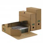 Ablagebox 80/100 PREMIUM A4+ braun