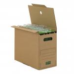 Hänge-Transportbox 100 PREMIUM A4+ braun
