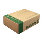 Mailbox Post-Versandkarton B5, braun