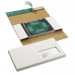 CD-Jewel-Mailer weiß mit Fenster (unten links)