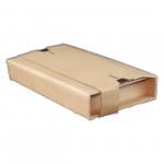 Versandverpackung PREMIUM C5 braun