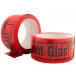 PP-Warnklebeband Vorsicht Glas